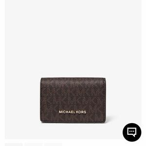 Michael Kors Small Logo and Leather Wallet!!